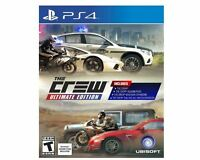 Crew: Ultimate Edition (Sony PlayStation 4, 2016)