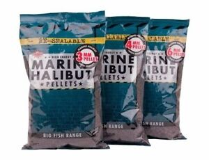 DYNAMITE BAITS MARINE HALIBUT PELLETS 900G BAG ALL SIZES IN STOCK