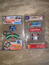 World's Smallest: Fisher Price Phone And Train Lot Of 2