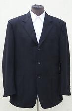 Canali Key Jacket pure cashmere black suit blazer jacket sz 44 UK- 54 IT