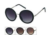 Details zu Sonnenbrille Damen rund Oberkante eckig Vintage Cat Eye 400UV Metallrahmen Retro