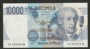 1984 ITALY 10,000 LIRE NOTE UNC