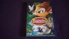 BAMBI DOUBLE DVD WALT DISNEY N 5