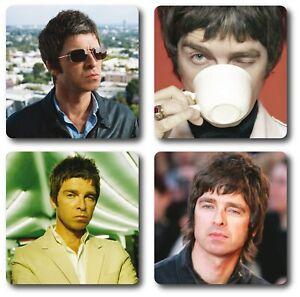 Noel Gallagher 4 Piece Coaster Set
