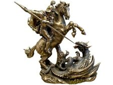 Saint George of Lydda Figure Dragon Horse Gift Veronese Home Decor Art