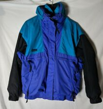 Columbia Sportswear Vamoose Medium Jacket Zip out Liner Purple Teal Black EUC Md