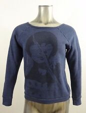 Obey junior's sweatshirt blue XXS