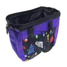6 Pocket Bingo Purple Nylon Dauber Tote Bag - FREE SHIPPING