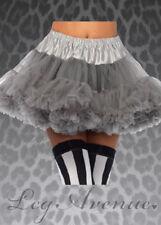 Ladies Leg Avenue Grey Layered Underskirt