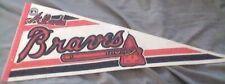 "MLB ... ATLANTA BRAVES c1999  30"" Felt Pennant"