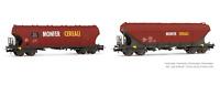 Rivarossi HR6475 HO Gauge FS Uagpps Monfer Cerealo Wagon Set (2) VI