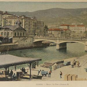 Spain 1890s color photos Book Bilbao Barcelona Portugalete San Sebastian Burgos