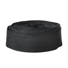1 Inch Wide 10 Yards Black Nylon Webbing Strap High Quality Black
