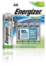 Energizer Pilas alcalinas 4x AA/LR6 Eco avanzadas