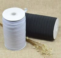 Braided Elastic 1/4'' Wide 144 Yards - WHITE Ships from U.S.A.