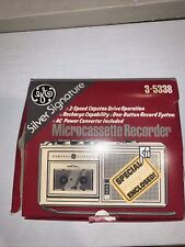 Ge 35338 Handheld Cassette Voice Recorder: All Parts in Box