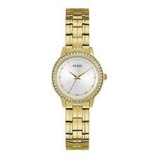 Guess Chelsea Women's Quartz Gold Tone Stainless Steel Watch W1209L2