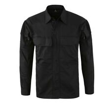 Men's Military Army Combat Shirt Tactical Long Sleeve Casual Shirt Camouflage
