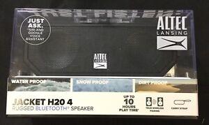 Altec Lansing Jacket H20 4 Portable Bluetooth Speaker - Black