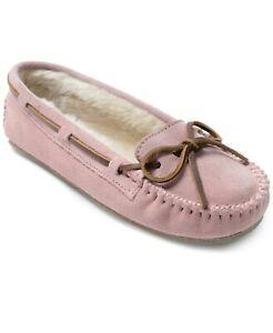 Minnetonka Women's Cally Slipper Size 10M Pink Blush