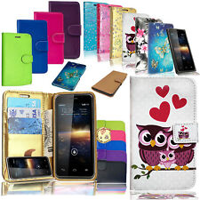 For HUAWEI P8 LITE 2017 PRA-LA1- New Luxury Pu Leather Wallet Phone Book Case