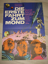 Die Erste Fahrt zum Mond  KINOPLAKAT H.G. Wells' First Men in the Moon Edward Ju