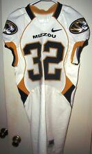 WILL EBNER (Missouri Tigers) #32 Game Used/Worn JERSEY (Size 40)