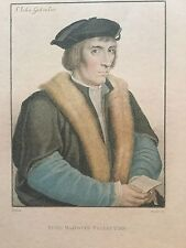 "18th Century Print Sir John Godsalve "" His Majesty's Collection"