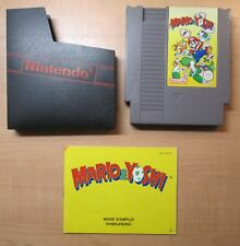 Nintendo NES - Mario  & Yoshi - Manual INCLUDED