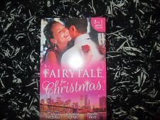 MILLS & BOON FAIRYTALE FOR CHRISTMAS 3 IN 1 LIKE NEW 2017