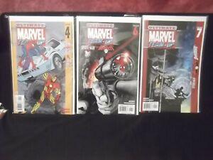 MARVEL COMICS ULTIMATE TEAM-UP SPIDER-MAN & WOLVERINE, HULK, IRON MAN LOT OF 10