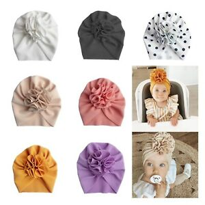 Baby Girl Infant Newborn Toddler Messy Bow Top Knot Headband TopKnot Turban Wrap