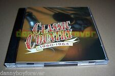 Time Life Classic Country 1960-1964 2 CD Set 30 Songs Made in USA in 1997