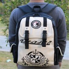 Hot Anime Backpack Dangan Ronpa danganronpa Monokuma Unisex School Shoulder Bag