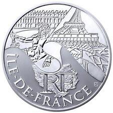 10 Euros région ILE DE FRANCE 2011