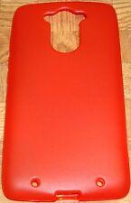 RED TPU Case Cover Motorola Moto Maxx XT1224/XT1225 Quark Ballistic Nylon