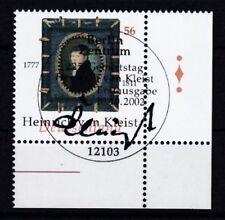 BRD 2002 gestempelt ESST Berlin Eckrand MiNr. 2283   Heinrich von Kleist.