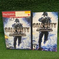 Call of Duty World at War Final Fronts (Playstation 2) Complete PS2 Excellent!