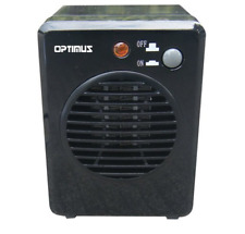 New Optimus 300W Portable Mini Ceramic Space Heater w/ Heat Limiting Thermostat