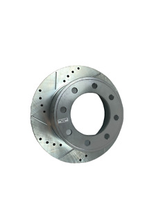 Powerstop Brake Rotor-Cross-Drilled Slotted, AR85116XL Ford F-350, F-450, F-250