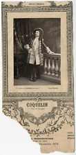 Lemercier, Paris, acteur, Comédie-Française, Alexandre Honoré Ernest Coquelin di