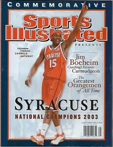 LN Sports Illustrated Commemorative Syracuse 2003 National Champions! No Label