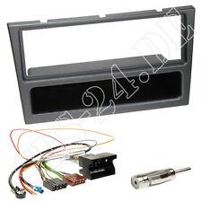 OPEL Combo C ab2000 Autoradio Radioblende charcoal-metallic Quadlock ISO Adapter