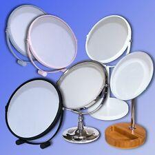 Schönheit & Gesundheit Praktisch Touch Screen Led Desktop Make-up Spiegel Mit Runde Basis Platte Eitelkeit Tabletop Lampe Kosmetik Spiegel
