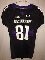 b4af0ec88 2000 Northwestern Wildcats GEORGE WOODS Game Used Worn NCAA Football ...