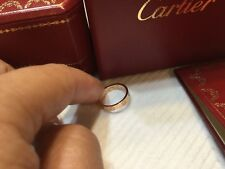 100% authentic Cartier 18k Rose   gold  mini love ring