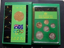 "1992 Royal Australian Mint Proof Set ""Barcelona Olympics"" with box & certificate"