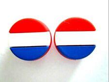 2 Netherlands Flags Holland Dutch Tennis Vibration Shock Absorber Dampener Kiki