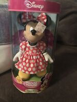 Minnie Mouse Porcelain Doll By Brass Key