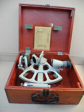 NEUF SEXTANT A TAMBOUR GRADUE FREIBERGER Marine Drum Germany Trommelsextant NEW